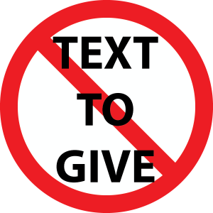 text2give
