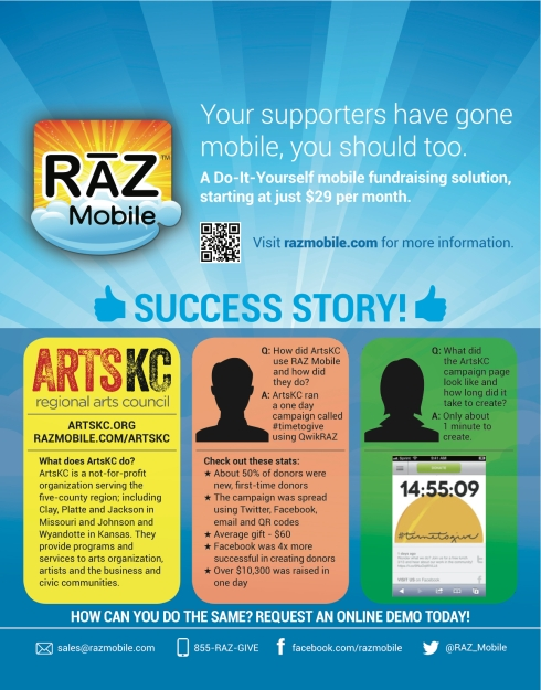 Great RAZ Mobile success story infographic